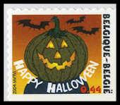 Halloween postzegel Belgie