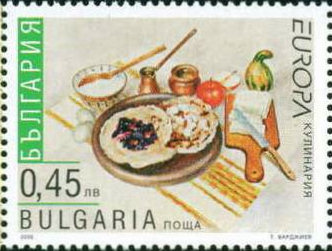 Pompoen postzegel Bulgarije