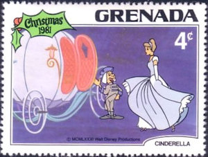 Pompoen postzegel Grenada