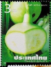 Pompoen postzegel Thailand