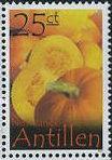 Pompoen postzegel Nederlandse Antillen